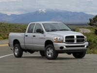 2008 Dodge Ram 3500 4WD 6-Speed Cummins 6.7L I6