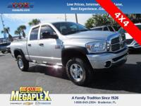 This 2008 Dodge Ram 3500 Big Horn in Bright Silver