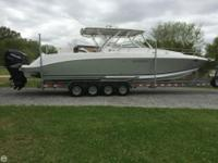 DONZI 38 ZSF Sportfish Cruiser This Donzi is loaded up