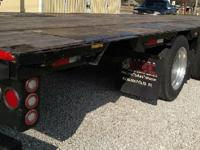 2008 Doonan Drop Deck Trailer, 50ft with rear axle