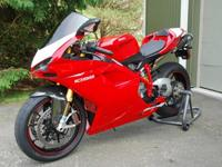2008 Ducati 1098S Superbike. I acquired this bike