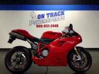 2008 Ducati 1098 S Here at On Track Powersports we are