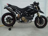 2008 Ducati Hypermotard 1100S, this bike is very clean.