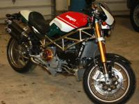 I HAVE A 2008 DUCATI MONSTER 998 S4RS TRICOLORETHIS IS
