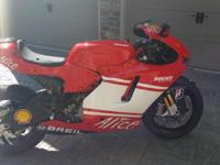 2008 Ducati Desmosedici D16RR#965. Bike is in excellent
