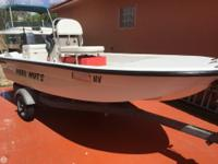 - Stock #79030 - 2008 DUSKY 14 FLATS BOAT WITH 2008