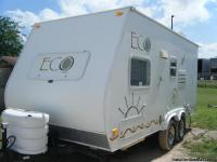 Stock#7222 Condition: Used 2008 ECO Travel Trailer, 18'