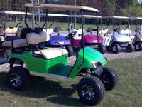 I have for sale a 2008 EZGO electric golf cart for