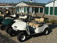 I have an Ezgo Gas golf cart for sale. It is a 2008