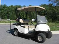 We have the EZGO RXV Golf Carts w/ the A/C Drive