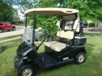 2008 EZGO RXV, New batteries (20 rounds), Windshield,