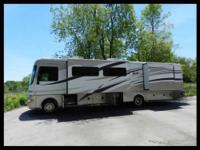 2008 Fleetwood Fiesta Ford 37' Class A Motorhome. Ford