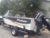 2008 Fisher Hawk 186 (same asTracker Targa) 18.5' Fish