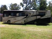 A 2008 Fleetwood Bounder 38s Class A is in Excellent