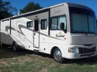 The RV is in exceptional condition with tires that are