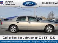 Engine: 4.6L Exterior Color: Silver Birch Metallic -
