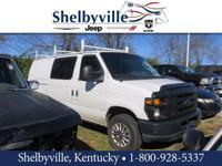 Clean CARFAX. Oxford White Clearcoat 2008 Ford E-150
