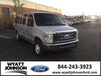 Clean CARFAX. Silver Clearcoat 2008 Ford E-150 XLT RWD