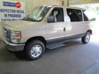 2008 FORD E350 XLT twelve PASS DVD RB 16S,