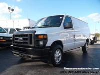 2008 Ford Econoline E-350 Super Duty Diesel Cargo Van
