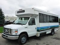 2008 Ford E-450 Super Duty 20-Passenger Bus, 142,990