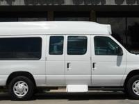 2008 Ford Econoline 12 Passenger Included Standard