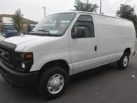 This is a beautiful Ford E-250 Cargo van with 183k