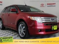 New Price! 2008 Ford Edge Limited Certification Program