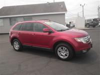 New Price! AWD. 2008 Ford Edge SEL AWD 6-Speed