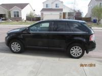 Up for sale is a Black 2008 Ford Edge Limited FWD. Car