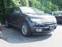 2008 Ford Edge Limited Black Clearcoat AWD Duratec 3.5L