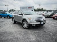 CARFAX One-Owner. Vapor Silver Metallic 2008 Ford Edge