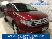 Red 2008 Ford Edge Limited AWD 6-Speed Automatic