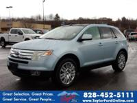 Options:  2008 Ford Edge Limited|Awd Limited 4Dr
