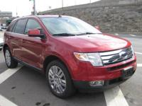 This loaded Ford Edge is the Limited edition and it