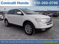 This 2008 Ford Edge Limited has ONLY 76,459 miles which