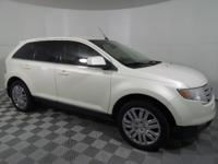 White Sand 2008 Ford Edge Limited FWD 6-Speed Automatic