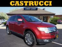Recent Arrival!   Redfire Metallic 2008 Ford Edge