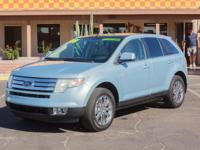 Options:  2008 Ford Edge 4D Wagon Limited|Light Ice