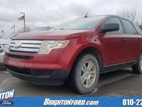 Redfire Metallic 2008 Ford Edge SE FWD 6-Speed