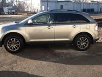 2008 Ford Edge SEL AWD:. - Vapor Silver Metallic