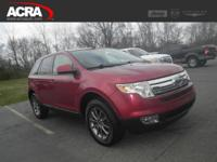2008 Ford Edge, key features include: a Sync Audio
