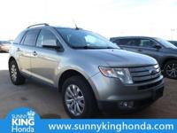 Recent Arrival! 2008 Ford Edge SEL Silver *Fresh Oil