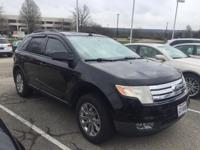 Black 2008 Ford Edge SEL FWD 6-Speed Automatic Duratec