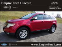 Options:  2008 Ford Edge Sel|Sel 4Dr Suv|3.5L|6