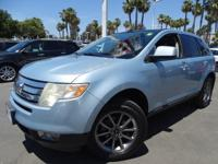 Options:  2008 Ford Edge Sel|Blue|Gasoline! It's Time