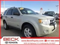 ***WOW***THIS LOW MILEAGE 2008 FORD ESCAPE 4X4 ONLY HAS