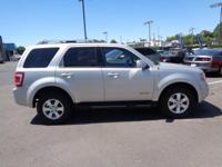2008 Silver Ford Escape Limited USB Charging Port,