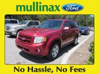 Options:  2008 Ford Escape Limited|Recent Arrival! New