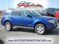 2008 Ford Escape XLT 4WD with 59,549 miles. This two